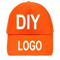 Wholesale Oem Snapbacks - OEM Custom Printed Embroidered LOGO Cotton Snapbacks Hats Baseball Caps Snapback Caps Size Adjustable High Quality Fast Shipping