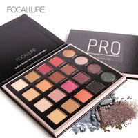 FOCALLURE New 20 Colors MatteElectric Pro Ombretto luccicante Nudo Glitter Shadow Palette Collezione Magic Star FA48
