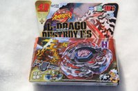 Wholesale Beyblade Metal Fight Launcher - New Arrive!! Metal Fight Beyblade L-Drago Destroy F:S BB-108 4D System + Launcher
