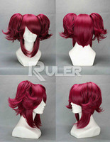 cosplay butler Australia - Free Shipping>>>Anime Black Butler Mey Rin Cosplay Wig + 2Clip on Ponytail COS-278A