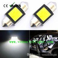 Wholesale Bulb 36mm 3w - Canbus No Error Free C5W led 3W 31mm 36mm 39mm 41mm Festoon Interior COB LED Light Bulb White DE3175 3022 Dome Map