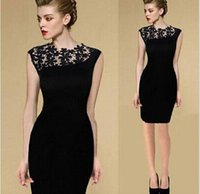 Wholesale Long Sleeves Beaded Night Gown - Cheap $29.9 Black Prom Party Dresses Short Under $50 Mermaid Sleeveless Gowns Evening Women Real Image Custom Mini Prom Dresses Night Club