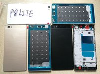 Wholesale battery huawei - for Huawei P8 Lite LCD Screen Frame + Back Housing Repair Kit P8 LITE Battery Cover+ Front Housing Frame Bezel Plate