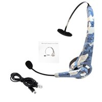 BTH-068 Gaming Auricolare Bluetooth V 2.1 Wireless ricaricabile auricolari per cuffie a lunga durata auricolare per PS3 PC