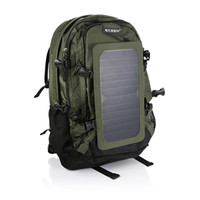 Wholesale Solar Charger Back - Solar Backpack Solar Charger Back Pack Bag with 6.5W solar panel Sunpower brand