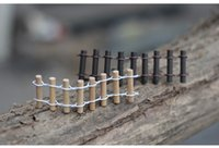 Wholesale Wood Gnomes - Sale artificial mini fencing fairy garden miniatures gnome moss terrarium decor resin crafts bonsai home decor for DIY Zakka