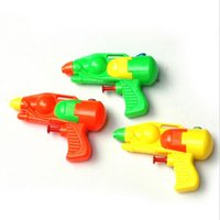 Wholesale Lovely Classic Interesting Retro Small Plastic Water Gun Pistol Children Kids Favorite Beach Sand Toy