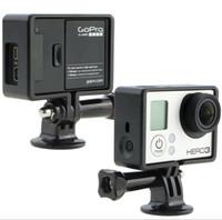 Wholesale Hero Knob Screws - Gopro Camera Accessories Tripod Mount Adapters + Long Thumb Knob Screw Bolt for Gopro HD Hero 3+ 3 2 1 sj4000 Drop Shipping