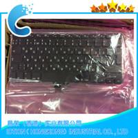 "Wholesale Macbook Pro Ru - Wholesale-Brand New Original For Macbook Pro 13.3"" A1278 RU Russian Keyboard 2009 2010 2011 2015 Year"