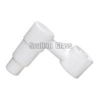 керамический гвоздь для мужчин 18.8mm оптовых-Soulton стекло Оптовая сторона рука Domeless Керамический гвоздь с универсальным 14.4 мм 18.8 мм мужской совместных керамические ногти Glss Бонг CN-007