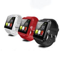 u8 смарт-часы для заметки оптовых-8 цветов U8 Bluetooth Smart Watch наручные часы с высотомером U8 U часы для I6 5S iphone 6s plus Samsung S6 S7 Примечание 5 Android телефон 002293