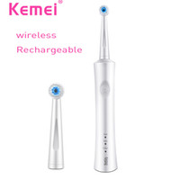 Wholesale Dental Children - KEMEI Rechargeable Ultrasonic Electric Toothbrush Reciprocating Rotation Oral Dental Smart b pro Electric Teethbrush BT-263
