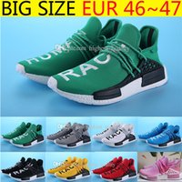 Wholesale Real Hot Human - Friends and Family Hot Human Race Factory Real Boost NMD Runner Pharrell Williams X Running Shoes Men Women Shoes Freeshipping Size 36-47
