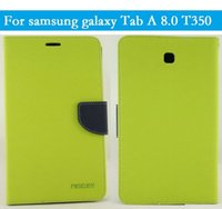 Wholesale Mercury Case Korea - for Korea Mercury mercury Silicone Case Samsung GALAXY Tab A8 T350 Tablet Free shipping With retail Package