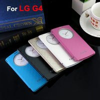blue chip retail - 2015 New Arrival For LG G4 Quick Circle Window Case Cover Without Retail Package No IC Chip