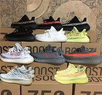 350 Boost V2 Ultra Boosts Cream Bianco Zebra Bred Kanye 350 sneaker buy nero zapatillas Uomo Donna Running Shoes Sport Kanye West sneake