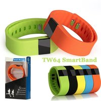 TW64 bracelet à puce bluetooth bracelet SMART SMART montre étanche Passometer sommeil Tracker Activity Monitor Fonction tw64 intelligente