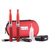 ingrosso h2 avviatore-GS H2 Ego t Double Starter Kit Sigaretta elettronica H2 Atomizzatore 2.0ml EGo T 650/900/1100 E sigaretta 510 Filetto Ecig