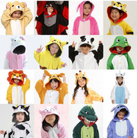 Wholesale Xxl Hot Lovely - Hot sale Kids Anime Kigurumi Carnevale Costume Lovely Cheap Pajamas Cosplay Onesies Costume Children Sleepwear Coat