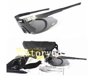 Wholesale Ice Goggles - ESS ICE Military Goggles,Polarized 3 Lens RX Inserts Army Sunglasses,Telescoping Temples & Pliable Earwires Ballistic Eyeshields