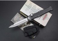 """Wholesale Fixed Gear Single - Halo V Tanto Knife (3.9"""" Stone wash) 150-4 single action auto Tactical automatic knife Survival gear knives with kydex sheath"""
