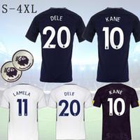 Wholesale Harry Shirts - 17 18 Soccer Jersey #10 Harry Kane #23 Eriksson Alli Son Wanyama 2017 2018 Camiseta Football Shirts Top Thailand AAA
