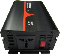 inversor de onda sinusoidal pura de coche al por mayor-Alta calidad 12VDC a 240VAC 50HZ Reino Unido Socket 500W de onda sinusoidal pura inversor de corriente para automóvil