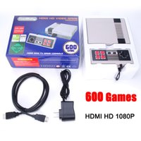 HD HDMI 1080P Salida Retro Classic Game Console TV Video Sistema de entretenimiento portátil incorporado 600 juegos para NES Mini Game PALNTSC