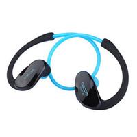dacom kulaklıklar toptan satış-2016 Yeni Dacom Atlet Bluetooth Kulaklık Kablosuz Spor Handsfree Kulaklık Stereo Müzik Mic ile Kulak Kancası Kulaklık Fone De Ouvido NFC