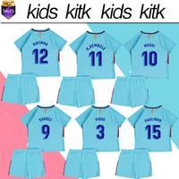049642957 Soccer Short Polyester  10 MESSI away soccer Jersey Kids Kit 17 18  10 MESSI