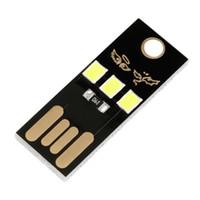Wholesale Usb Pocket Power - New Slim USB 3-LED Light Super Bright Pocket Lamp Module For Laptop Power Bank Wholesale