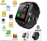 Wholesale Wholesale Watches Sale Cheap - Smartwatch U8 Bluetooth Anti-lost 1.5 inch Wrist Watch U Watch For Smartphones iPhone Android Samsung HTC Cell Phones Cheap sale