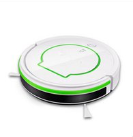 Wholesale One Touch Remote - 2017 Robot Vacuum Cleaner Newest Innovations Intelligent Frequency Conversion Speed Down Or Up W  9 Sensors One Touch Key To Clean