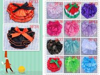 Wholesale Sassy Diapers - Wholesale-wholesale cute satin baby diaper covers bloomers summer Ruffle Bloomer with ribbon toddler Ruffle Bottom Sassy Pants 100pcs lot