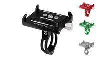 Wholesale G Bikes - GUB G85 G-85 Aluminum mtb Bike bicycle phone holder motorcycle support gps holder for bike handlebar bike accessories 4 colors