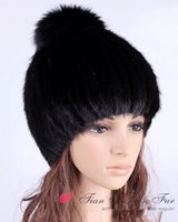 Wholesale High Quality Mink Hats - Wholesale-2015 Brand New High Quality Women Genuine Mink Fur Hat Women Caps Wholesale retail Winter Women Mink hat Free shipping