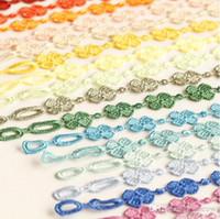 Wholesale Wholesale Cruciani Bracelets - Flower Shape Mars Lace Cruciani Clover Bracelets Colorful Friendship Bracelet Jewelry Sweet Women Men Hot Italian Orc