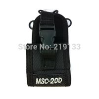 Wholesale Tyt Radio Case - Wholesale-MSC-20D Multi-function Nylon Case Bag for Baofeng wouxun puxing tyt Two-way Radio