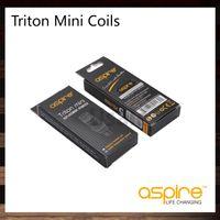 bobinas de triton clapton venda por atacado-Aspirar Triton Mini Bobinas 1.2ohm 1.8ohm Clapton bobina 0.15ohm Ni200 Cabeça Da Bobina Para Triton Mini Atomizador Nautilus Nautilus Mini 100% Original