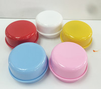 Wholesale This clay plasticine mud creative handmade pearl accessories diy music box music box rotating white embryo