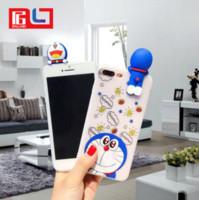Wholesale iphone cases doraemon for sale - Cartoon Doraemon D case for iphone Soft silicon gel phone case for iphone iphone x