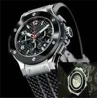 Wholesale Luxury Watches Big Bang - luxury big bang brand new! Luxury men's steel mechanical sports style F1 racing watch, black   silver style, fashion jason007