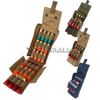 Wholesale Tactical Gauge - Tactical MOLLE PALS 25 Round 12 Gauge Shells Shotgun Reload Magazine Pouch