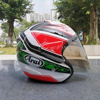 Wholesale Helmet Dh - ARAI Adult Open Face Half Helmet Moto Motorcycle Downhill MTB DH racing helmet cross Helmet capacetes