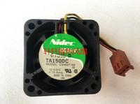 Wholesale Nidec 4cm Cooling Fan - NIDEC TA150 C34637-58 4020 DC12V 0.13A 4cm 3 line cooling fan