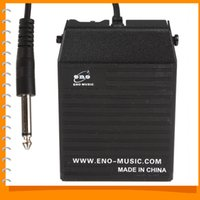 Wholesale Eno Pedals - ENO Music Black Metal Sustain Pedal Controller in Keyboard for Yamaha Casio Electronic Piano all Electronic Organ