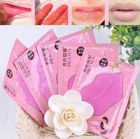 ingrosso l'età della ruggine-PILATEN del collageno mascherina del labbro Pad paffuta labbro dell'essenza dell'umidità Anti Aging Wrinkle Patch cuscinetto in gel Lips Lip Enhancer