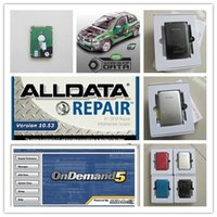 diagnostic automobile réparation auto alldata logiciel logiciel v 10,53 et mitchell OnDemand5 + 3in1 vive hdd 750gb