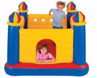прыгающие замки для оптовых-США Intex48259 juegos надувные надувные подгузники замки детские прыжки игрушки надувные замки батут отскок дом castillos hinchables