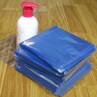 Comercio al por mayor 2000pcs / lot 10 * 20cm PVC Heat Shrink Wrap Bolsa de Cine Open Top Seal Calor embalaje la bolsa de plástico transparente de cosméticos Embalaje de regalo Polybag